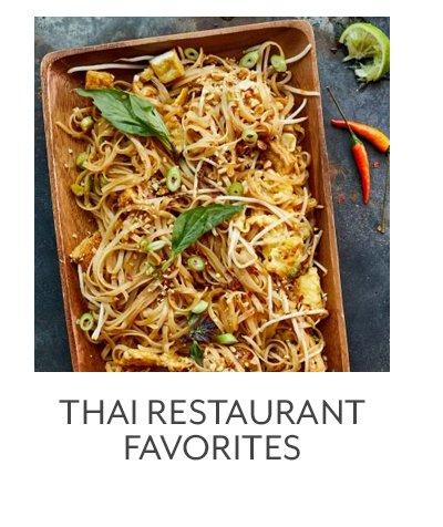 Thai Restaurant Favorites