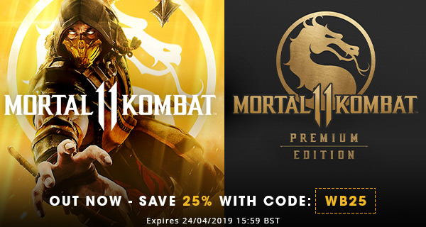 Green Man Gaming Mortal Kombat 11 Out Now Spring Sale Extra