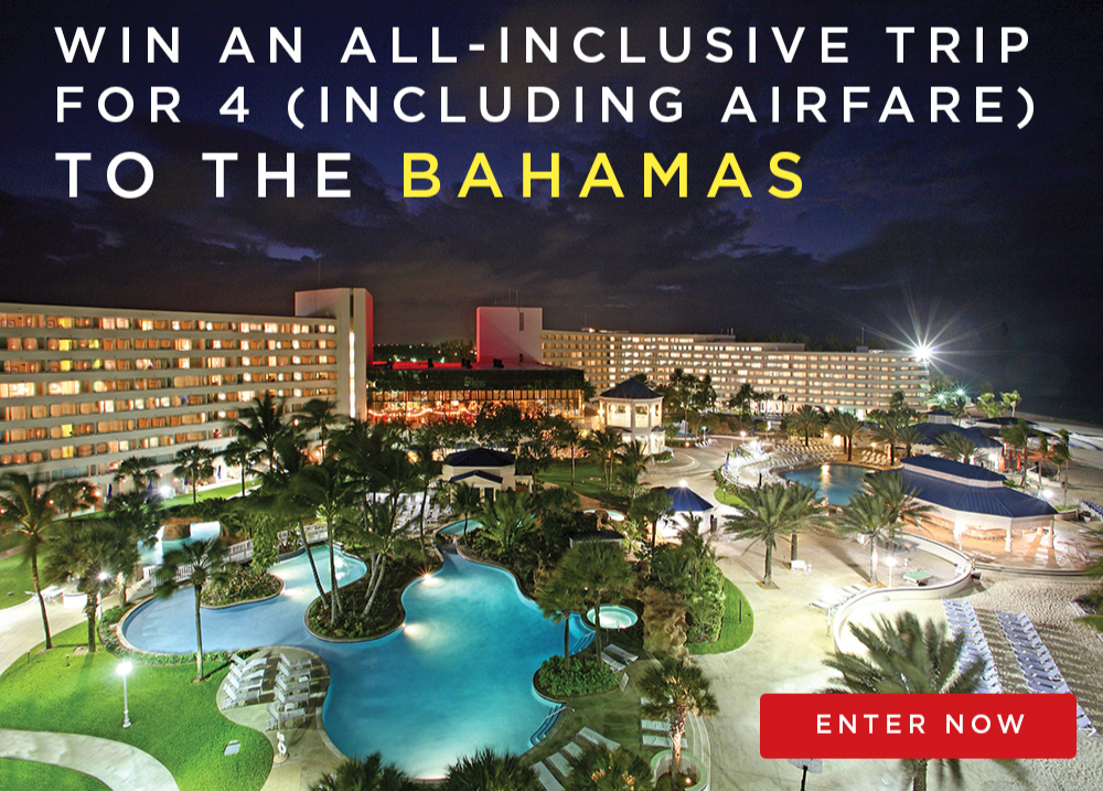 Win an all-inclusive trip to the Bahamas!