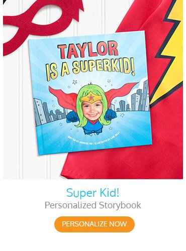 Super Kid! Personalized Storybook