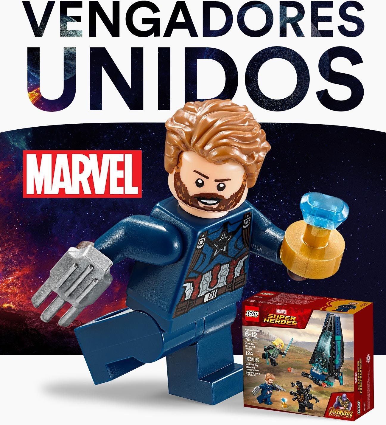 Coppel Thor Capitán América Iron Man Avengers
