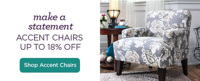 Make A Statement - Shop Accent Chairs