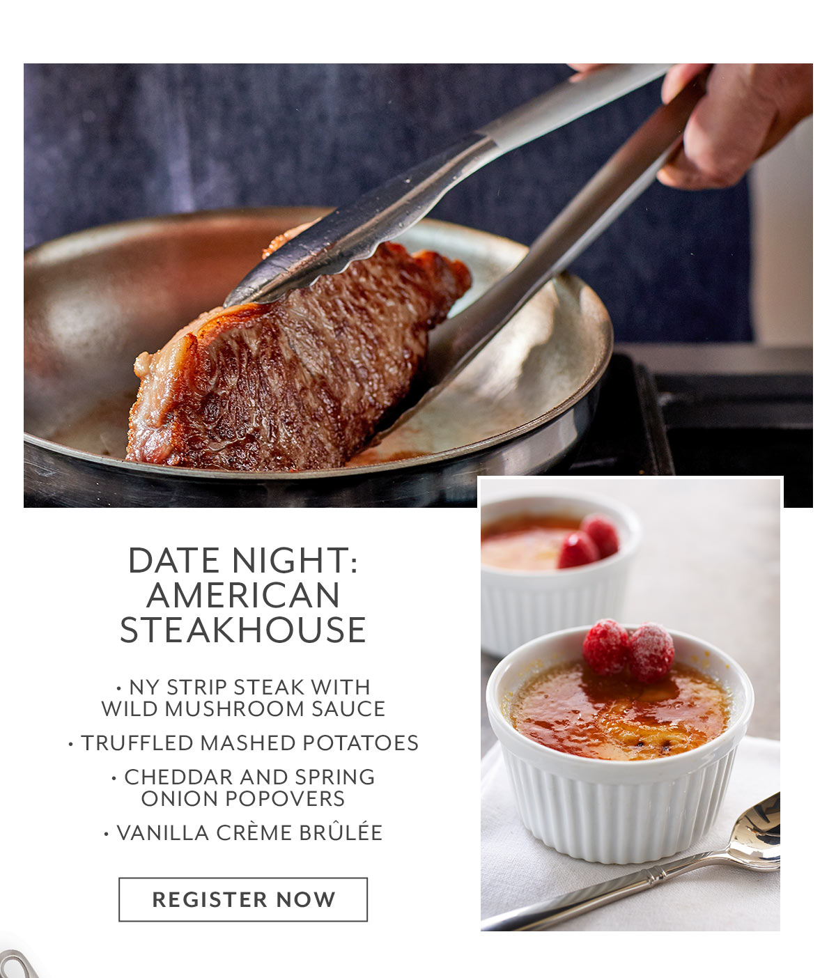 Class: Date Night • American Steakhouse