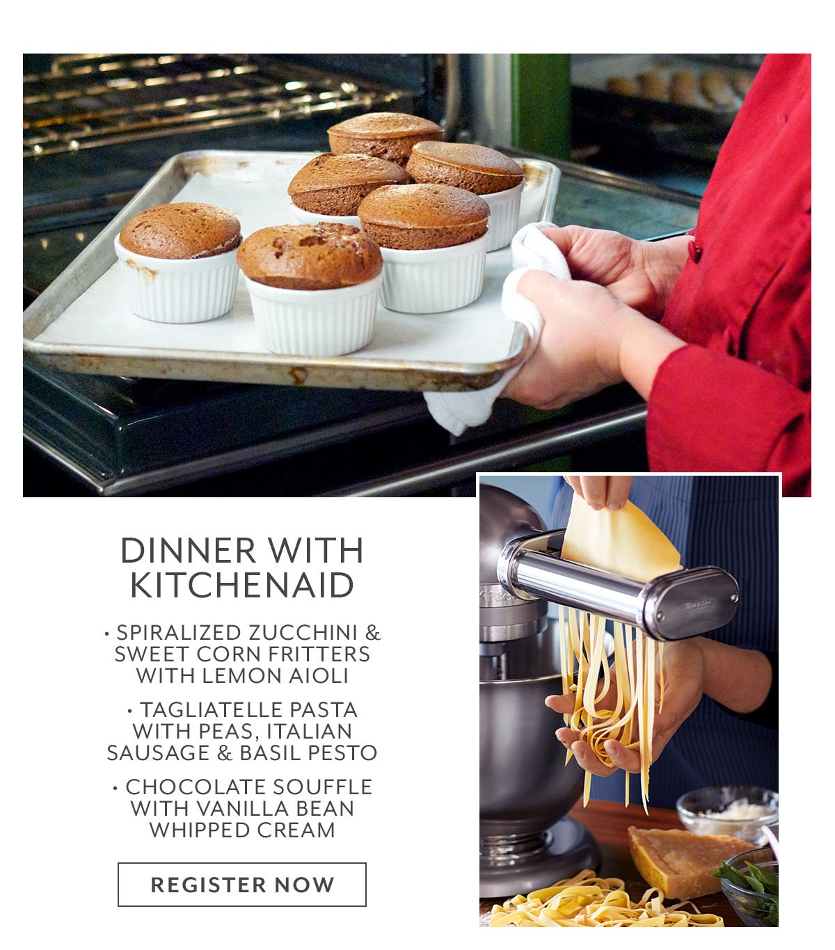 Class: Dinner with KitchenAid