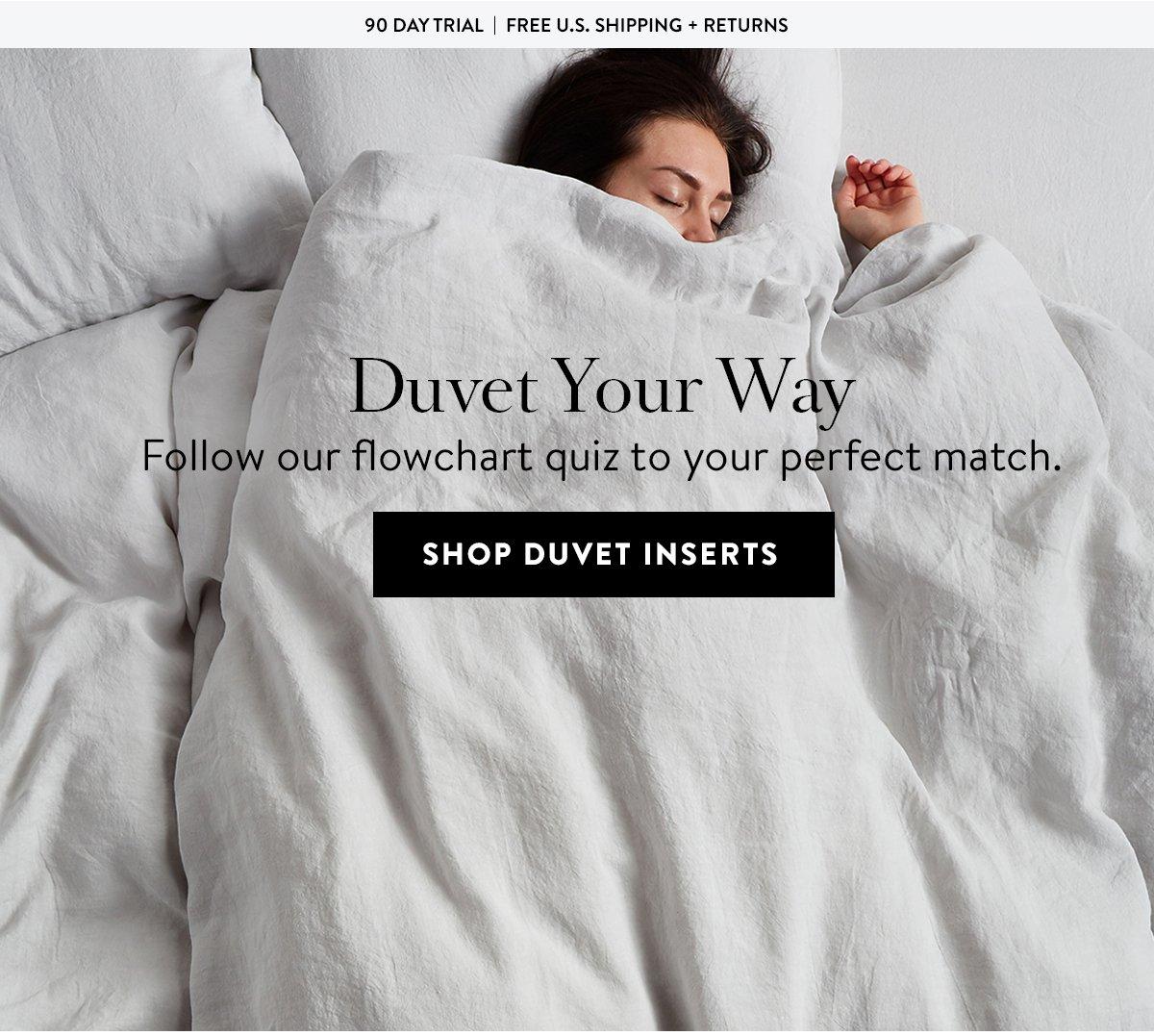 Shop Duvet Inserts