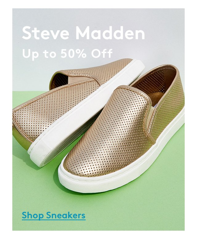 Steve Madden | Up to 50% Off | Shop Sneakers