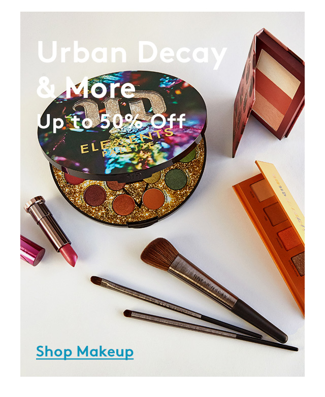 Urban Decay & More | Up to 50% Off | Shop Makeup