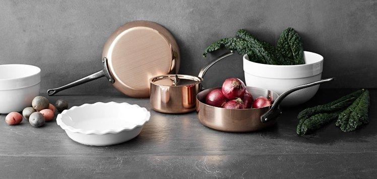 European-Inspired Dinnerware to Cookware