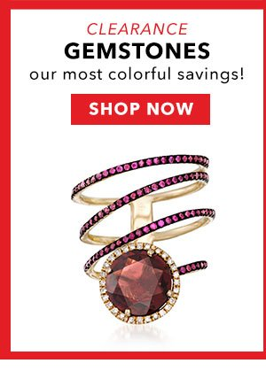 Clearance Gemstones. Shop Now
