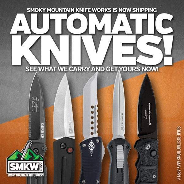 Check out our selection of Automatic Knives!