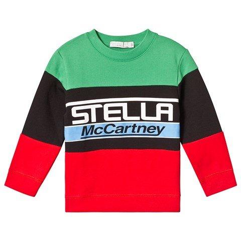 Stella McCartney Kids Multicolour Block Logo Sweatshirt