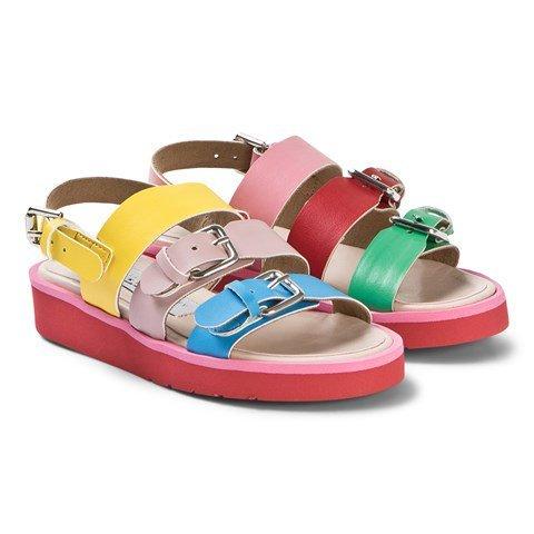 Stella McCartney Kids Multicolour Strappy Sandals