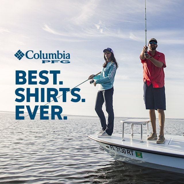 Two anglers fishing off a boat, Best Shirts Ever.