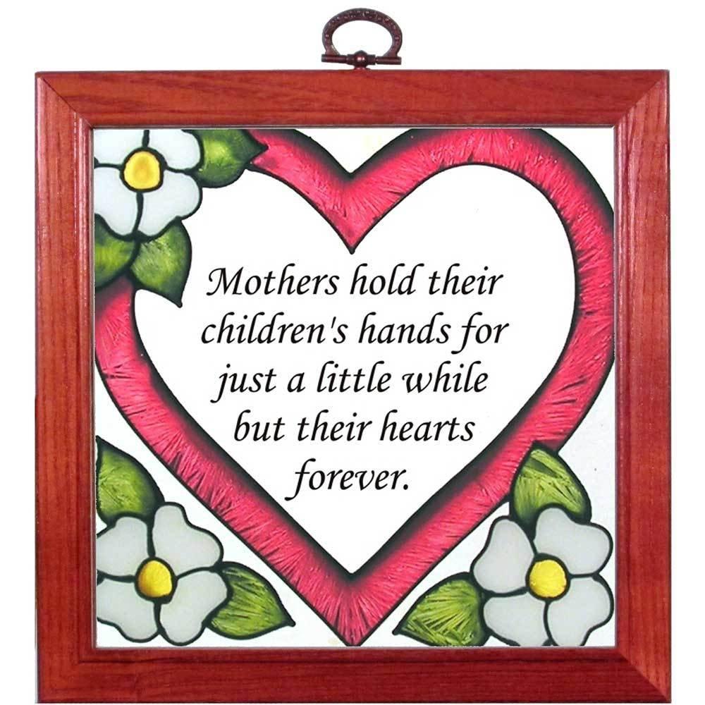 Mother's Heart Suncatcher