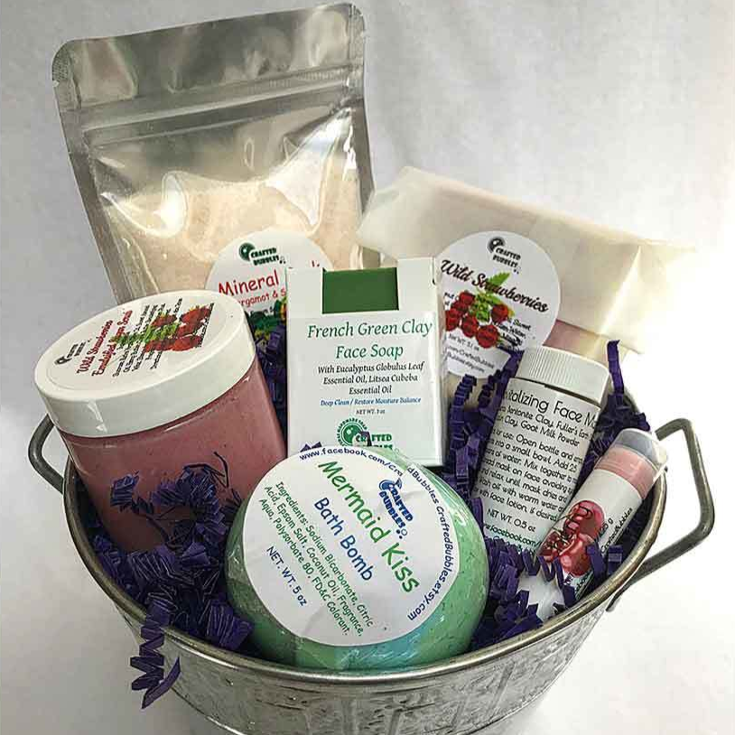 Soap and Skin Care Pampering Gift Set