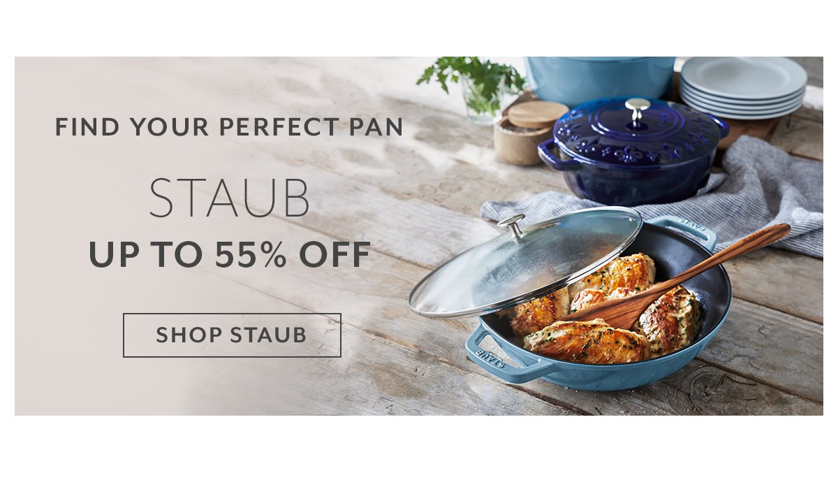 Staub up to 55% Off