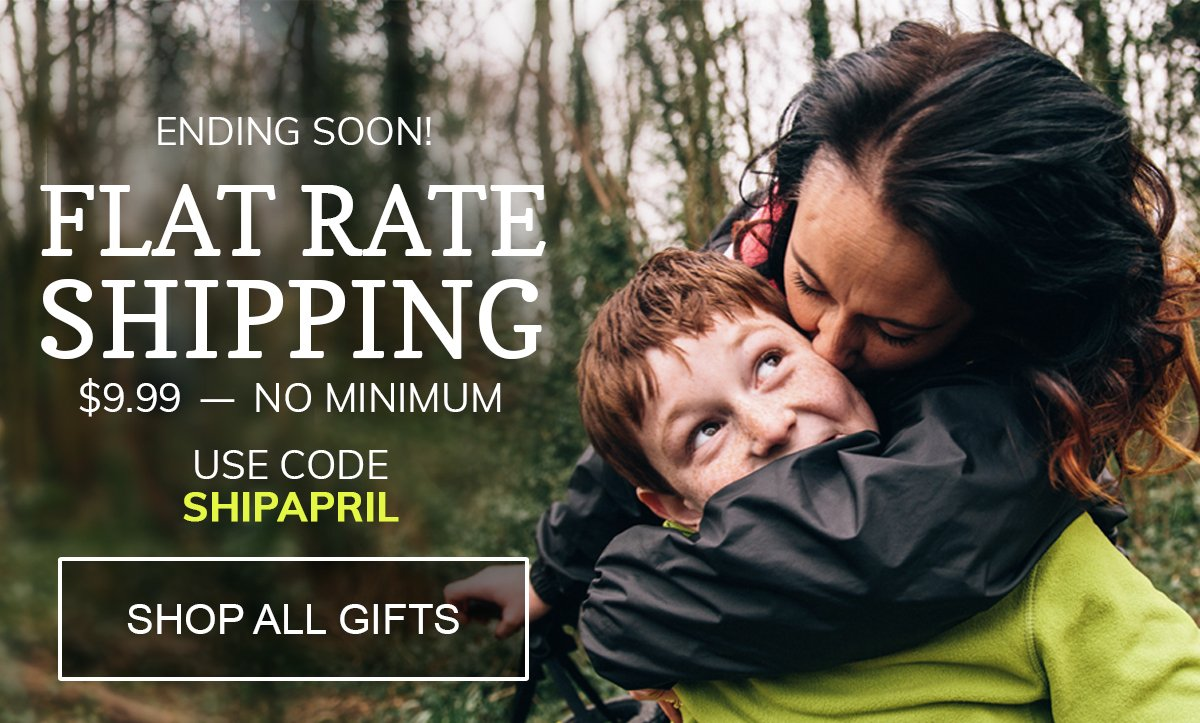 $9.99 Flat Rate Shipping Ends Soon! Use Code SHIPAPRIL.