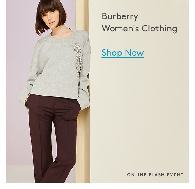 Burberry Women's Clothing | Up to 60% Off | Shop Now | Online Flash Event