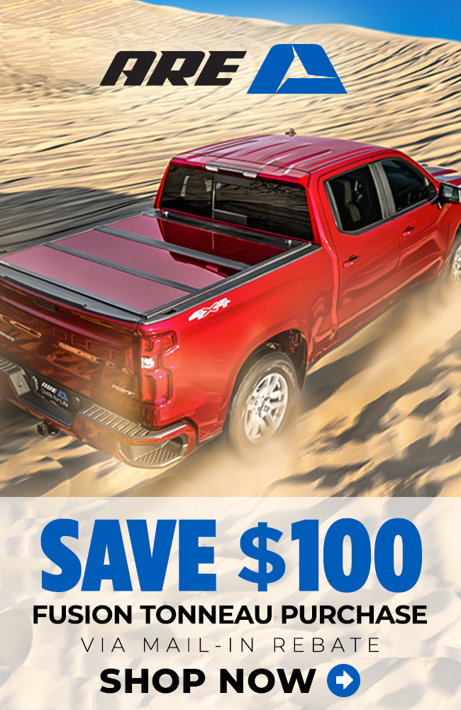Realtruck Com Up To 100 Off A R E Fusion Tonneau Cover Milled