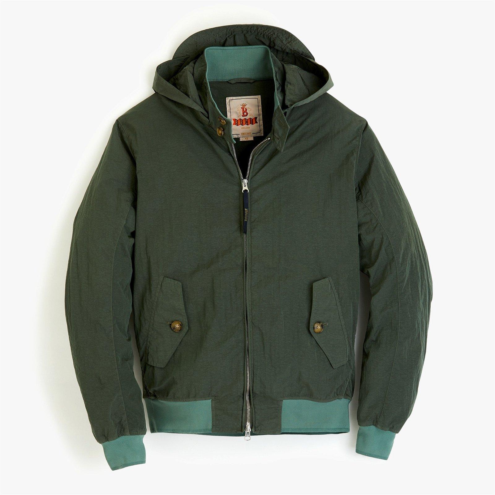 Baracuta® G9 Harrington jacket with detachable hood