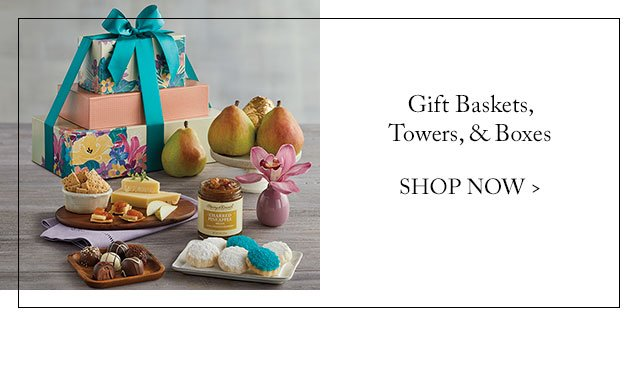 Gift Baskets, Towers, & Boxes