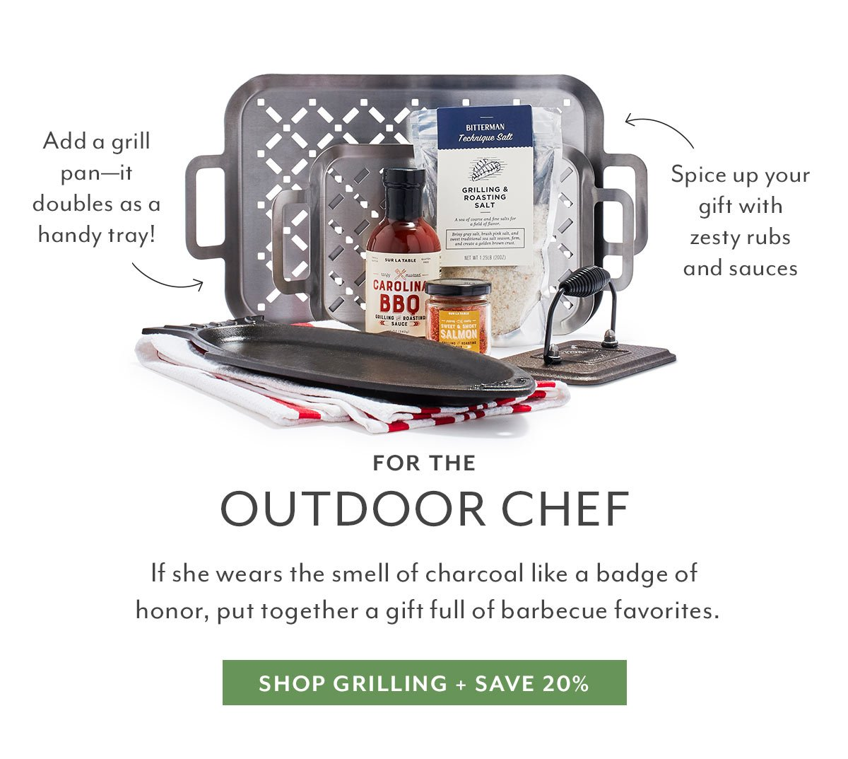 For the Outdoor Chef
