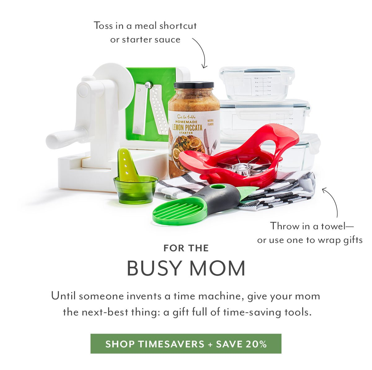For the Busy Mom