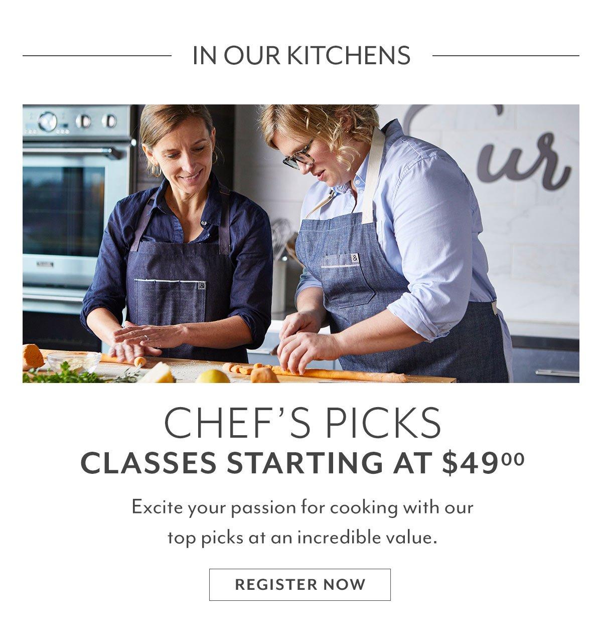 Chef's Picks