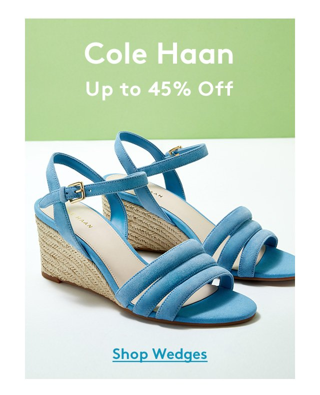 Cole Haan | Up to 45% Off | Shop Wedges