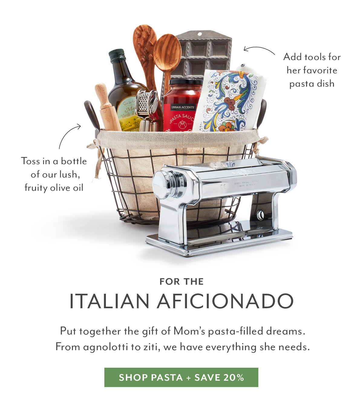 For the Italian Aficionado