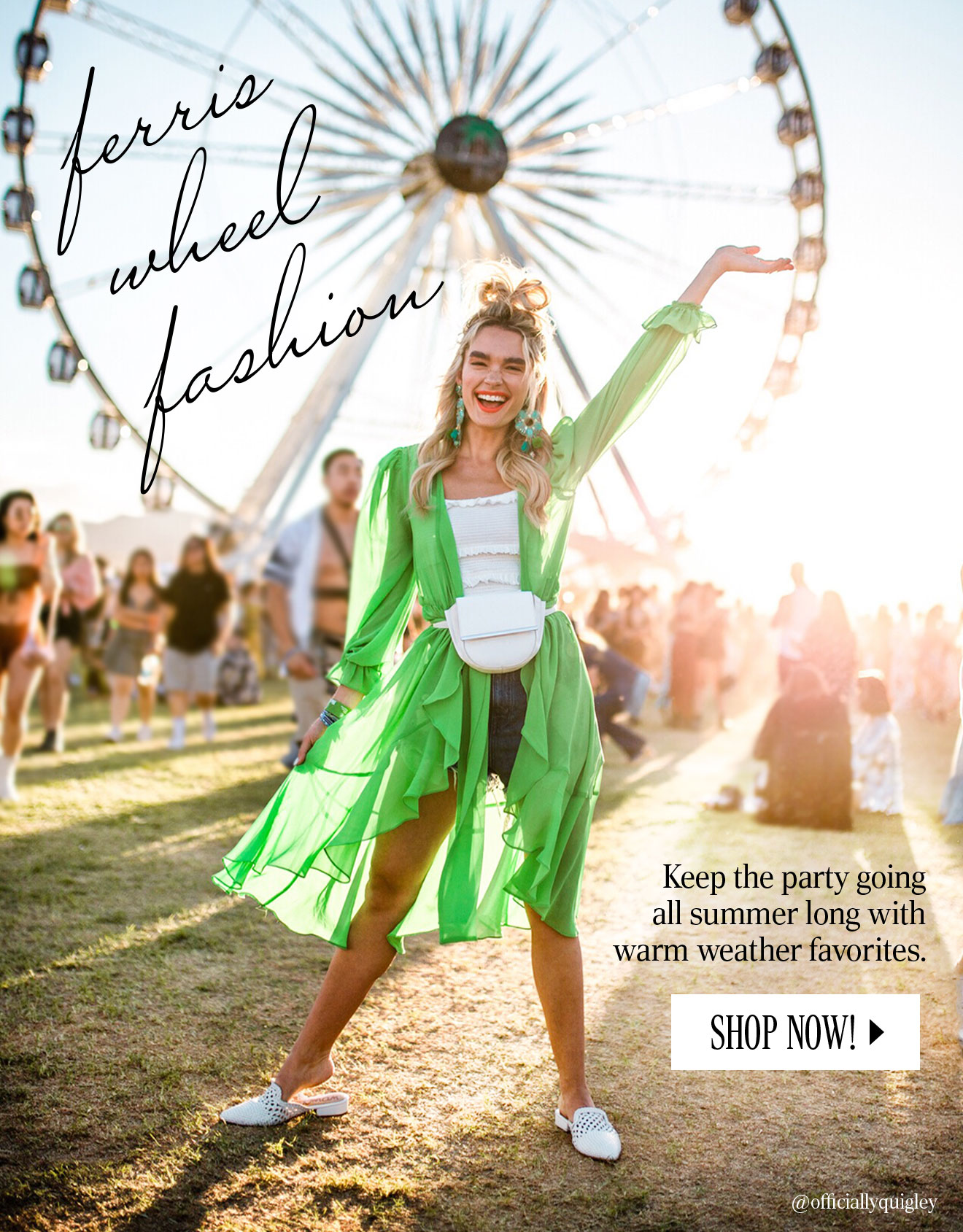 Keep the party going all summer long with warm weather favorites. Shop Now