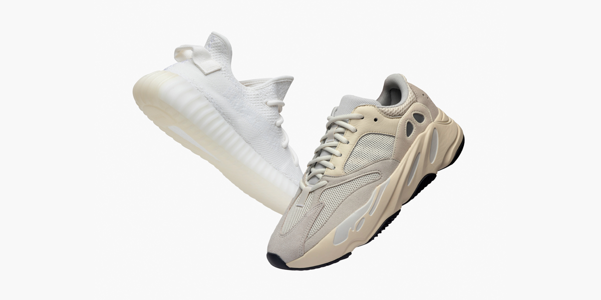 save off b17ad 03362 GOAT: Now Under Retail: Yeezy 350 'Cream White' and Yeezy ...