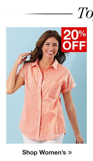 Shop Women's Tops!
