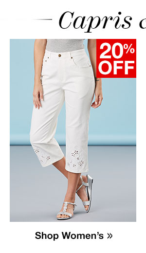 Shop Women's Capris!