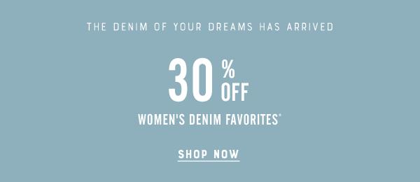 30% Off Womens Denim