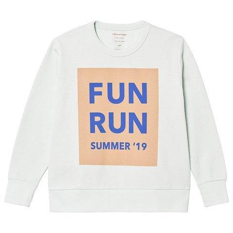 Tinycottons Light Mint Fun Run Sweatshirt