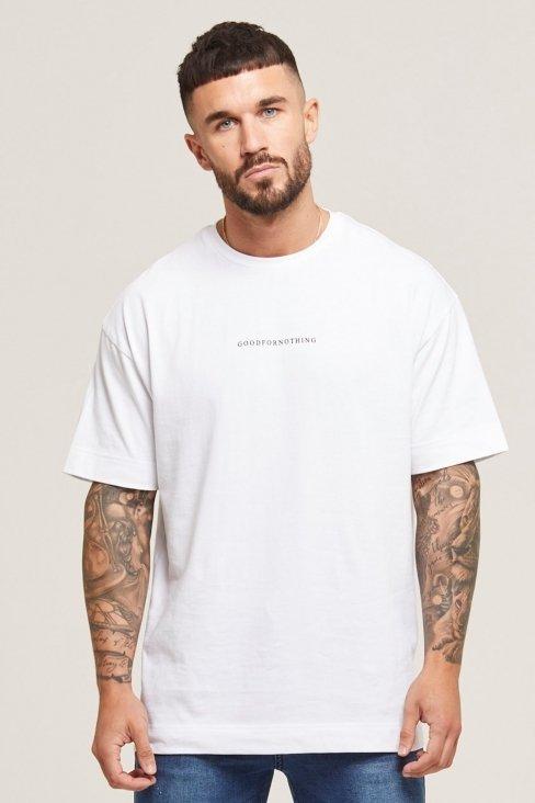 Oversized Surge White T-shirt