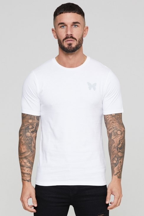 Essential Reflective White T-shirt