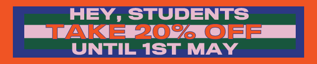Hey, Students Take 20% Off Until 1st May