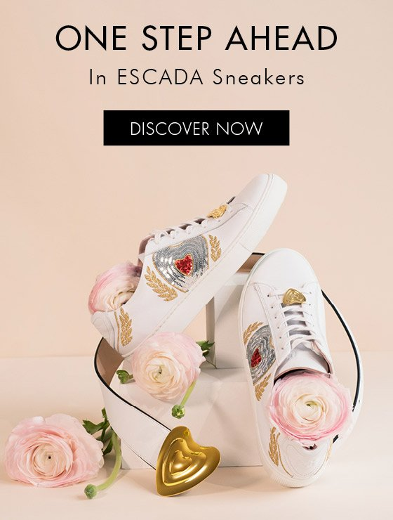 Escada: Ahead of the pack in shoes and