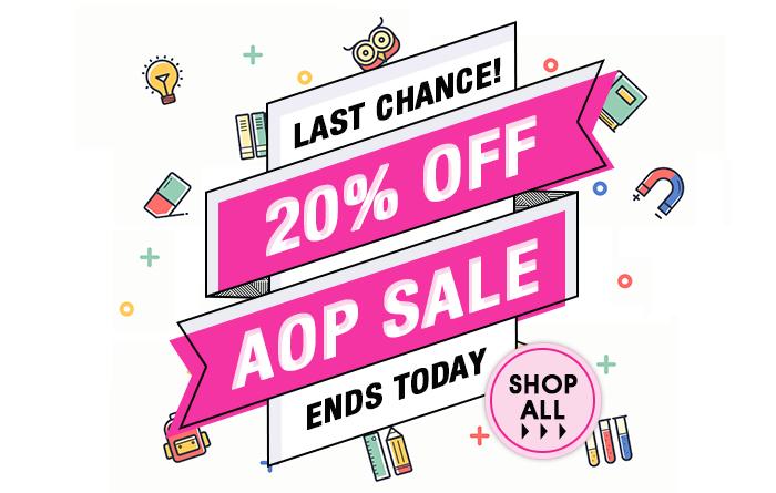 20% off Alpha Omega Publications (AOP), all April
