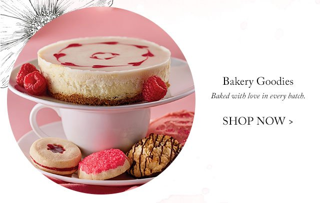 Bakery Goodies - Baked with love in every batch.