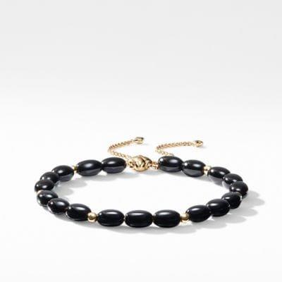 Spiritual Bead Bracelet with 18K Gold