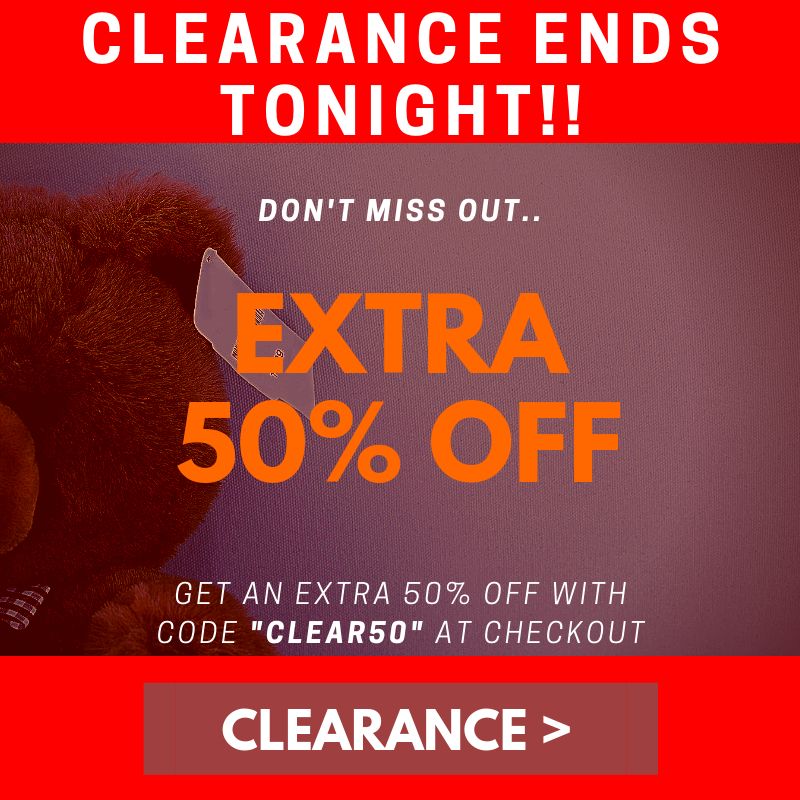 clearance ends tonight