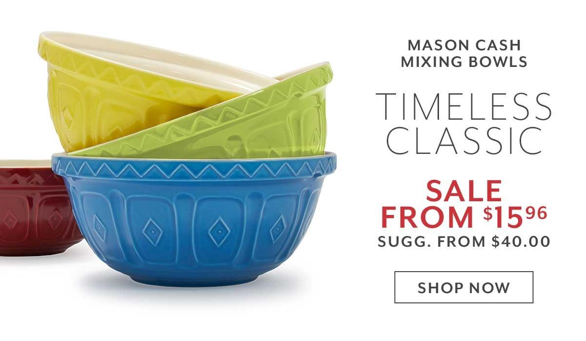 Mason Cash Mixing Bowls