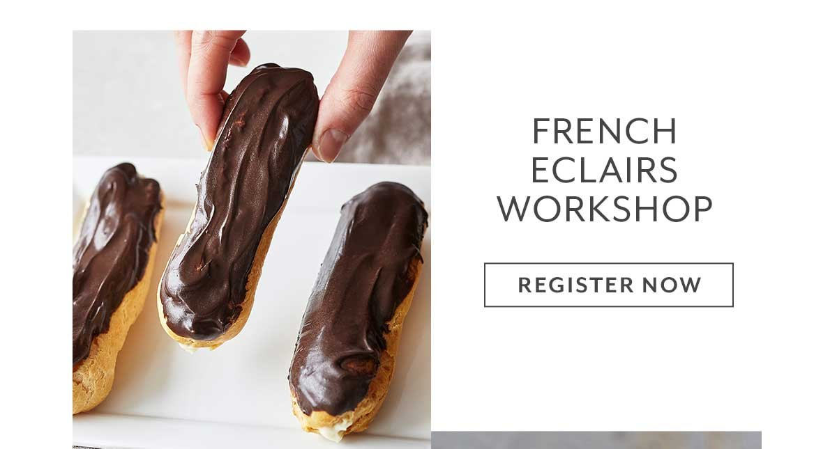 Class: French Eclairs Workshop