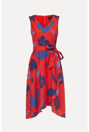 Sacha Printed Dress