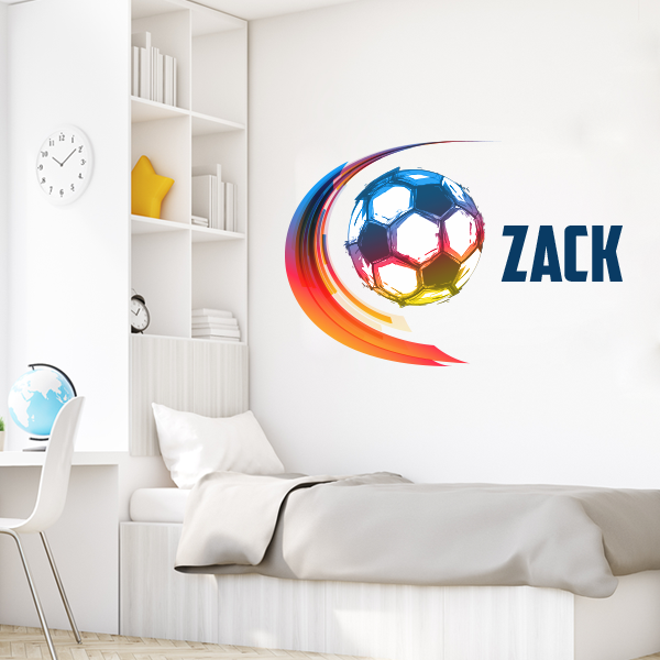 Image of Soccer Life Wall Decal