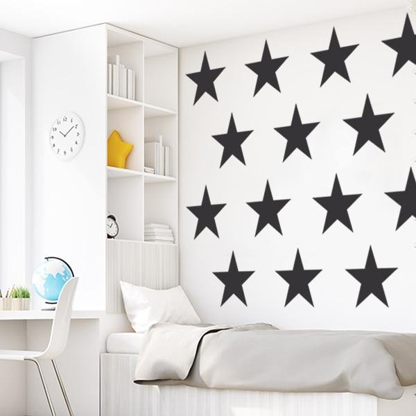 Image of Giant Stars Wall Decal Set