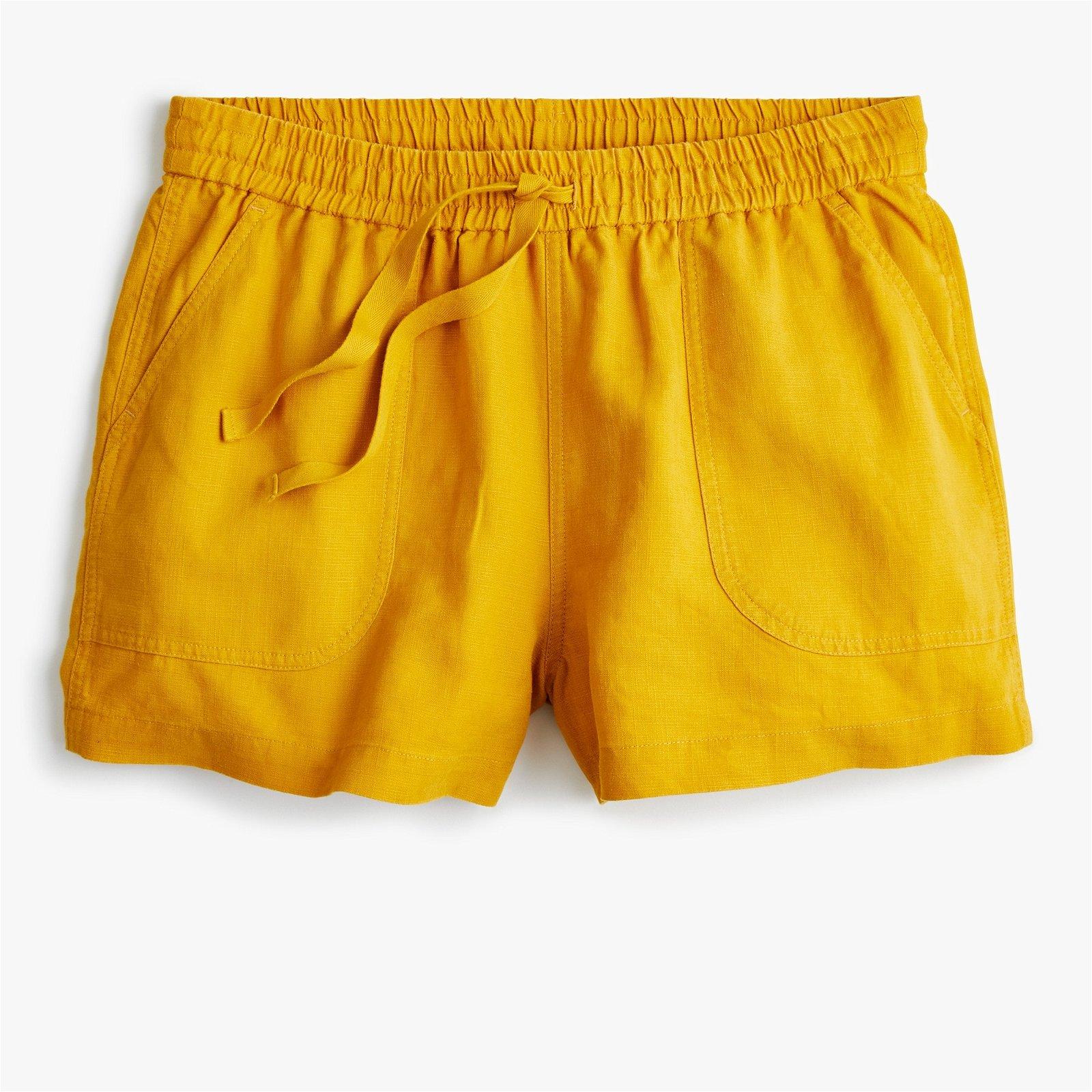 Point Sur seaside short in linen-TENCEL™